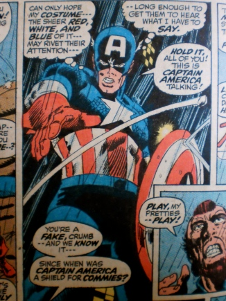 Captain America original comic