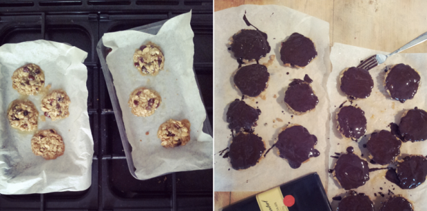 Making florentines, florentines recipe, The Great British Bake Off, easy chocolate florentines
